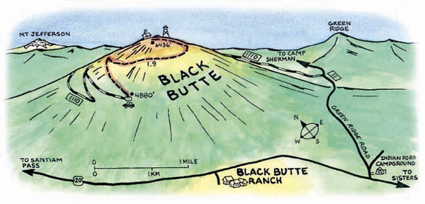 Black Butte Map