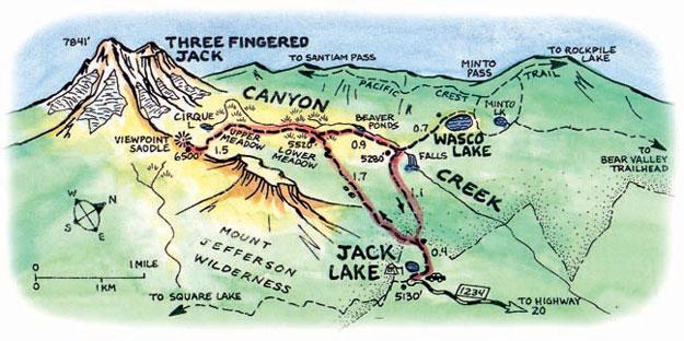 Hike Canyon Creek Meadows | Oregon.com