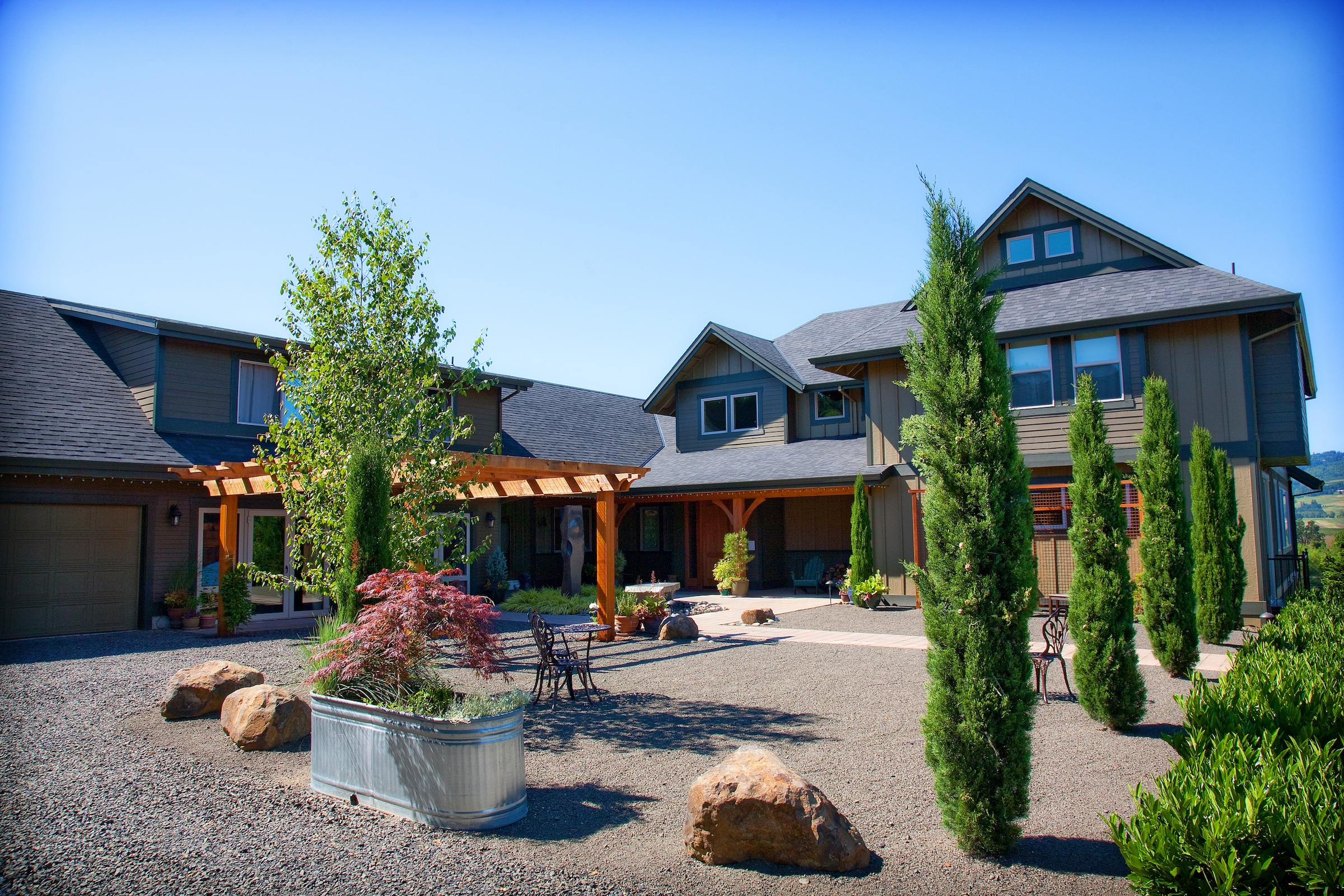le puy a wine valley inn | oregon