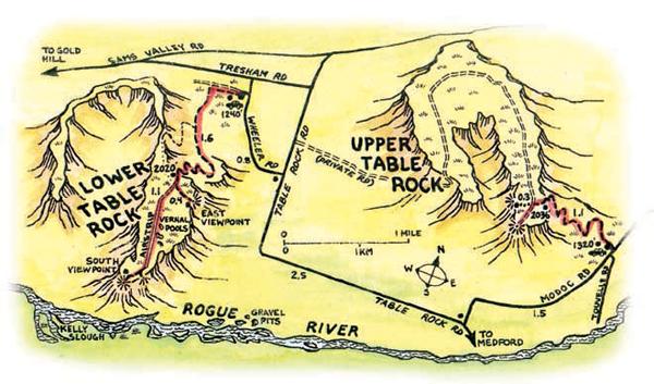 Excellent Hike Table Rocks Oregon Com Home Interior And Landscaping Dextoversignezvosmurscom