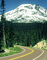 South Sister, East of Sparks Lake © 1999. David Jensen