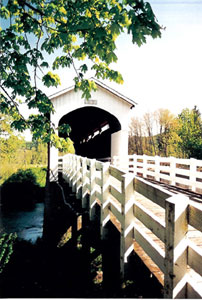 Row River (Currin) Covered Bridge