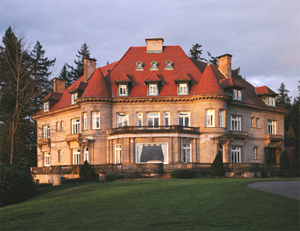 Pittock mansion for Building a house in portland oregon